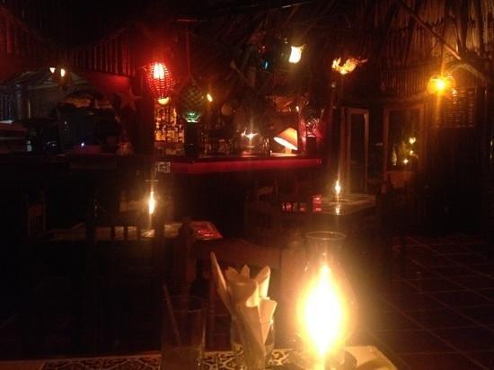 La Cabana del Pescador:                   lobster,lemon pie and flamenco guitar music.