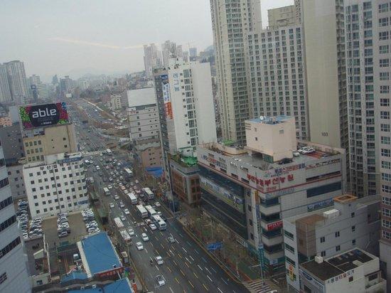 ibis Ambassador Busan City Centre:                   部屋からの眺め