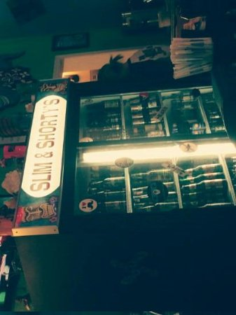 Slim and Shorty's:                   their beer cooler :)