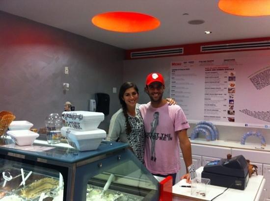 Gelato-go South Beach :                   domeee