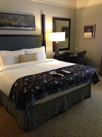 The Fairmont Palliser: Bed