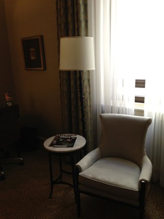 The Fairmont Palliser: Sitting Area