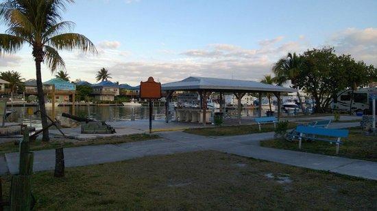Knights Key RV Resort & Marina:                   Fish cleaning, boat docks.