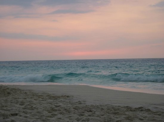 Manini'owali Beach (Kua Bay):                   Just after sunset