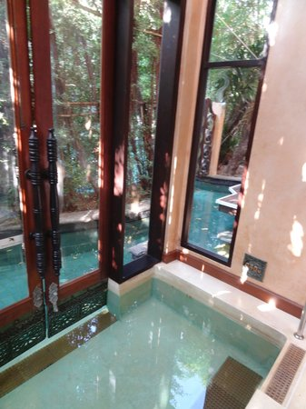 The Baray Villa:                   Indoor Pool