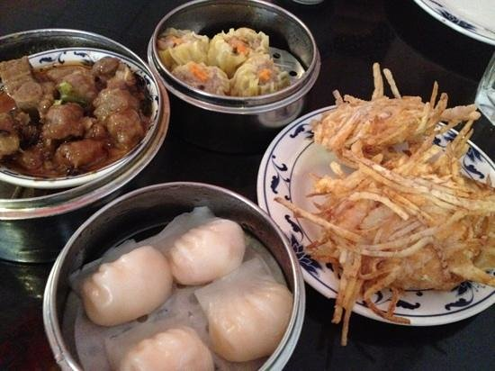 Tropical Chinese Restaurant: dim sum at Tropical Chinese