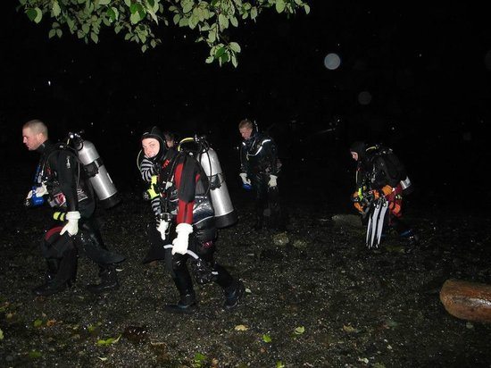 Ναναΐμο, Καναδάς: Night dive - Haunted Halloween Event