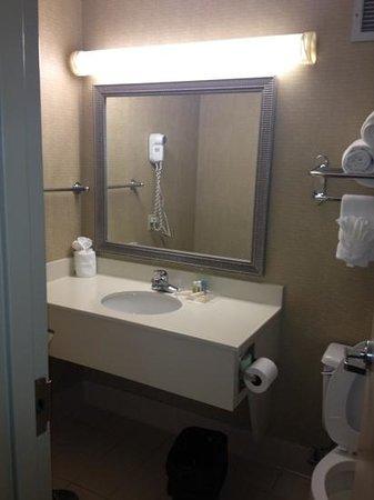 Holiday Inn Baton Rouge South Hotel:                   bathroom