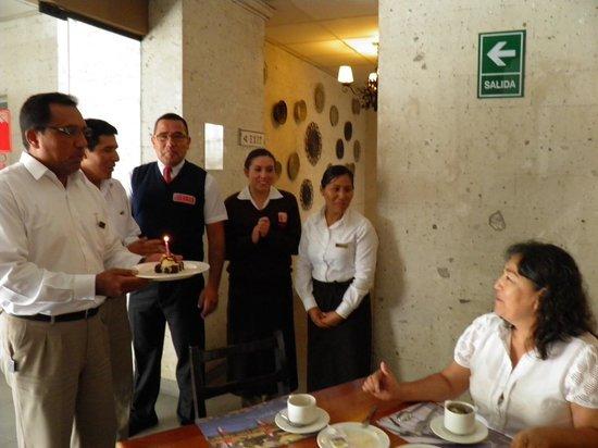 Casa Andina Standard Arequipa:                   Comedores