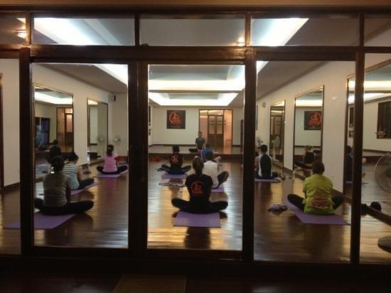 Ao Nang Yoga:                   doing butterfly