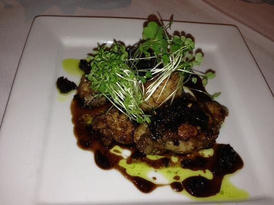 "Ariana Restaurant:                   SWEETBREADS- ""Agrodolce"" Fried Crisp and Tossed in a Sweet and Sour Glaze of H"
