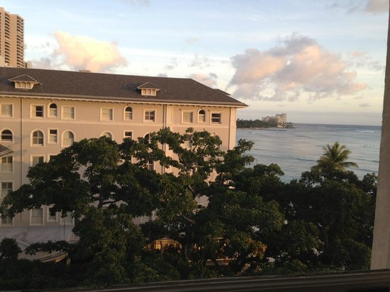 Moana Surfrider, A Westin Resort & Spa:                   View from another window in room.