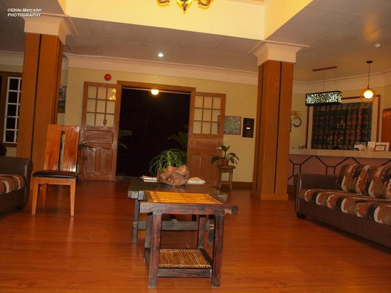 AIM Igorot Lodge:                   The Lobby