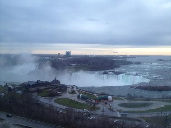 Niagara Falls Marriott Fallsview Hotel & Spa: vue de ma chambre du Marriott