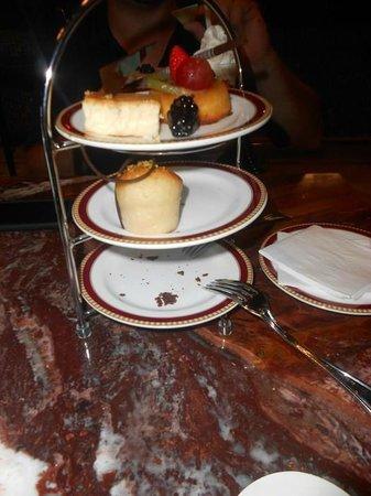 Secrets Maroma Beach Riviera Cancun:                   Dessert @ Coco Cafe...unlimited coffee and desserts!