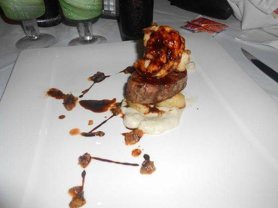 Secrets Maroma Beach Riviera Cancun:                   Delicious filet!