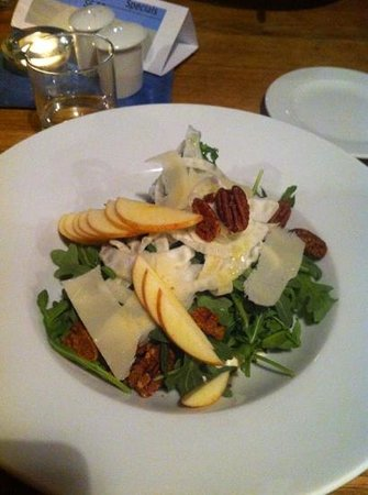 The Old Bauernhaus: arugula salad
