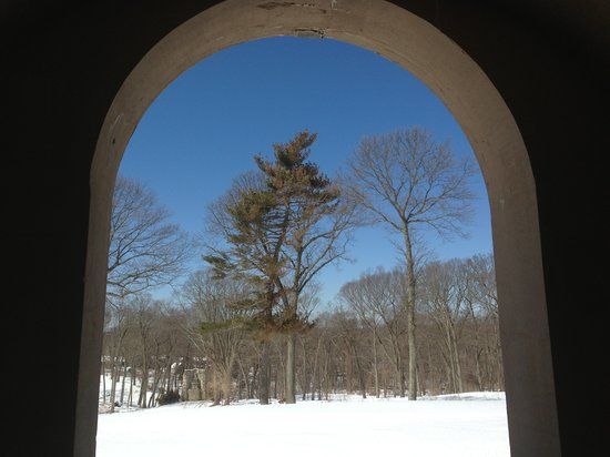 OHEKA CASTLE Hotel & Estate:                                     View from the library