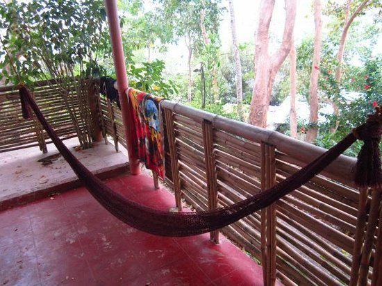 Discovery Island Resort and Dive Center:                   Sleeping on the hammock