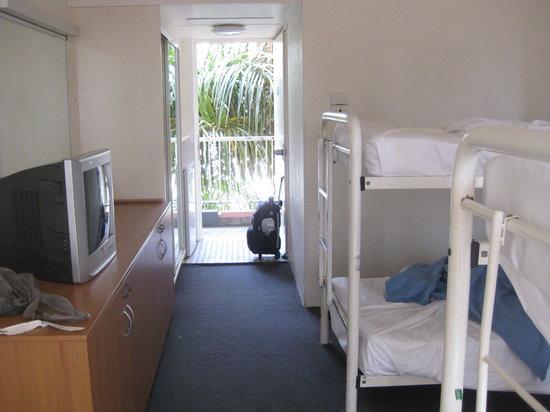Islander Backpacker Resort:                   4 beds dorm