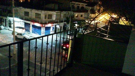 Hotel Belmar:                   from balcony at night