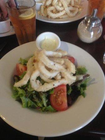 Degani Bakery Cafe:                                     calamari salad