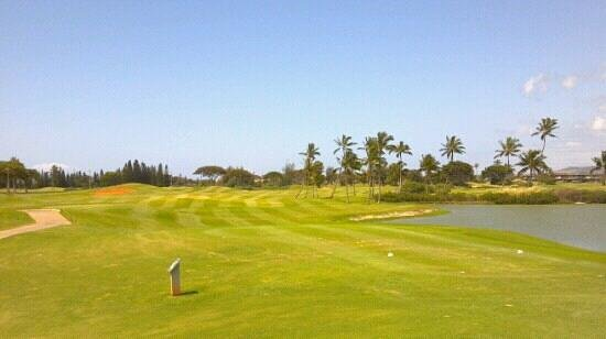 Hawaii Prince Golf Course:                                     First tee course A