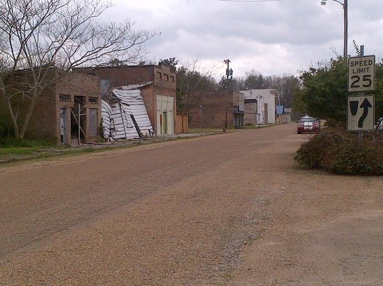 Georgetown, MS:                                     Railroad and Main Street