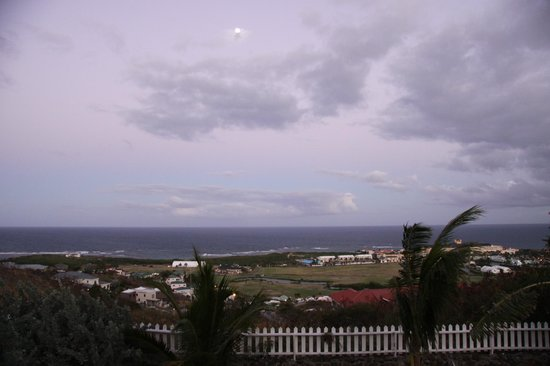 Rock Haven Bed & Breakfast:                   Dusk over the Atlantic