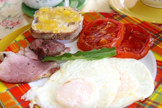 Rock Haven Bed & Breakfast :                   Amazing Breakfasts