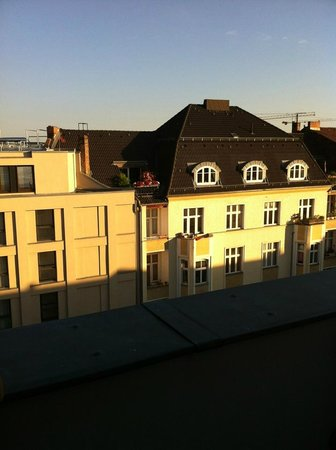 The Circus Hostel:                   View from our balcony