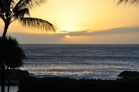 Marriott's Ko Olina Beach Club:                   from the grounds