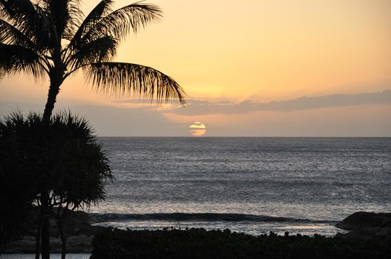 Marriott's Ko Olina Beach Club:                   Ko Olina Sunset