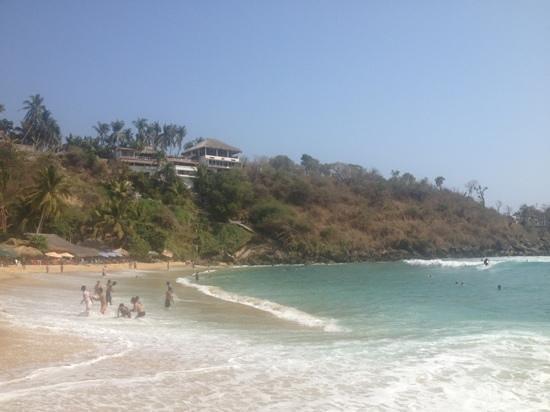 Villas Carrizalillo :                   view from the beach