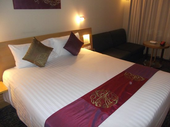 Novotel Bangkok on Siam Square: Double bed