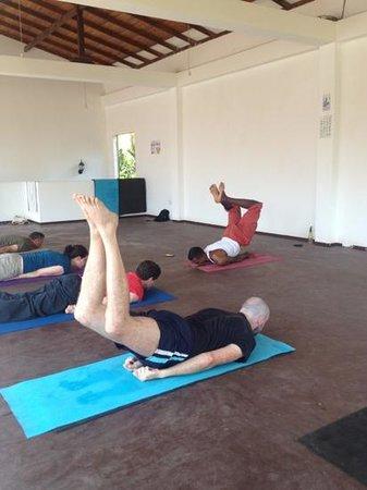 Yoga with Asiri:                   Asiri's yoga class