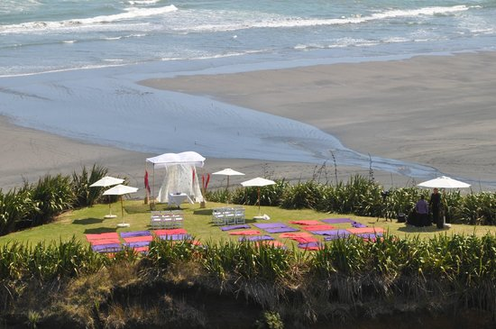 Castaways Resort: Outdoor wedding area