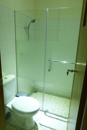 The Banyumas Villa:                   The one bedroom suite bathroom