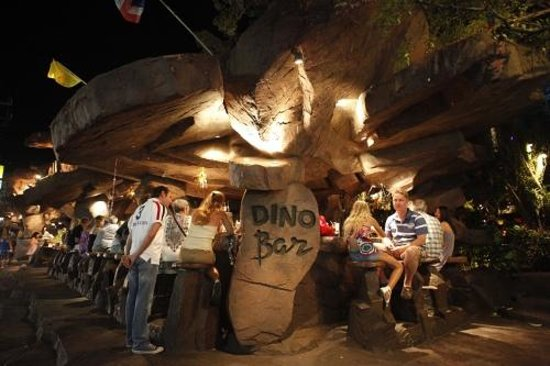Dino Park:                   The bar serves nice cocktails and ice coffees you will really appreciate after