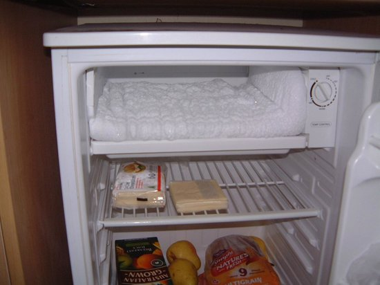 High Cross Park Lodge:                   Freezer full of ice