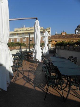Hosianum Palace Rome:                   Hotelterrasse