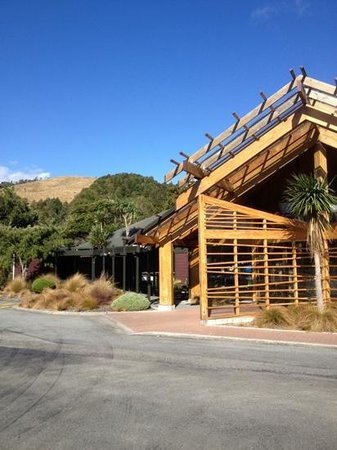 Pukaha Mount Bruce National Wildlife Centre:                   Pukaha Mount Bruce visitor centre