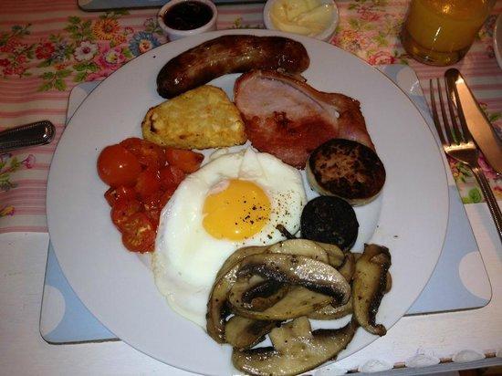Seavista:                   Amazing cooked breakfast