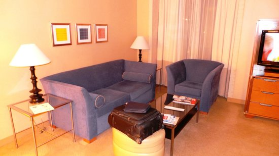 One Washington Circle Hotel:                   Sitting area