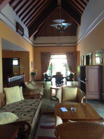 Nirwana Gardens - Indra Maya Pool Villa: Living/Dining room