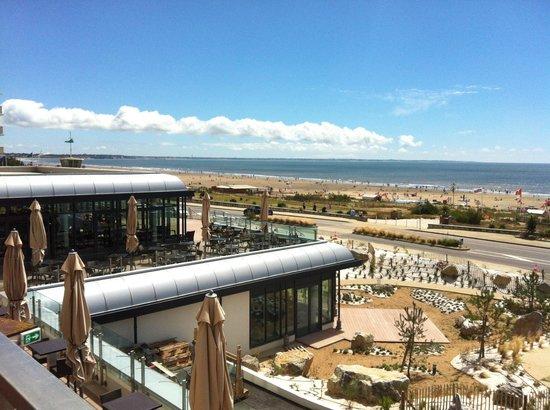 Le Cap Restaurant : Un cadre unique avec vue panoramique sur l'océan