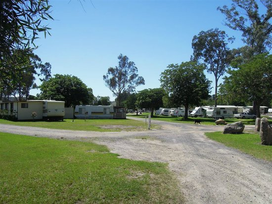 Eden Gateway Holiday Park:                                     View of the park