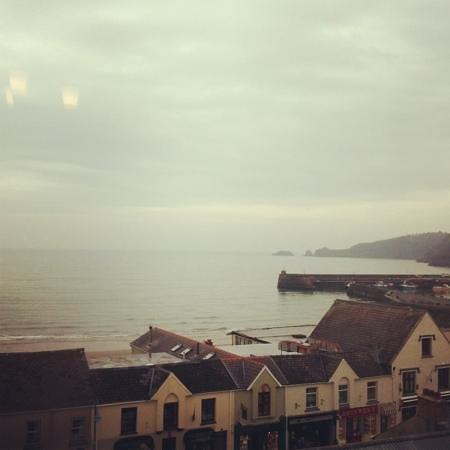 Cliff House Guest House:                                     View from Monkhouse x