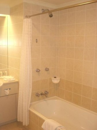 Novotel Sydney Norwest: 409 Shower Over Bath