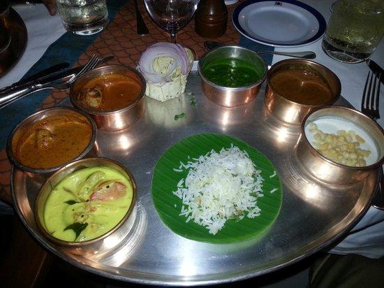 The Oberoi Amarvilas: Thaali